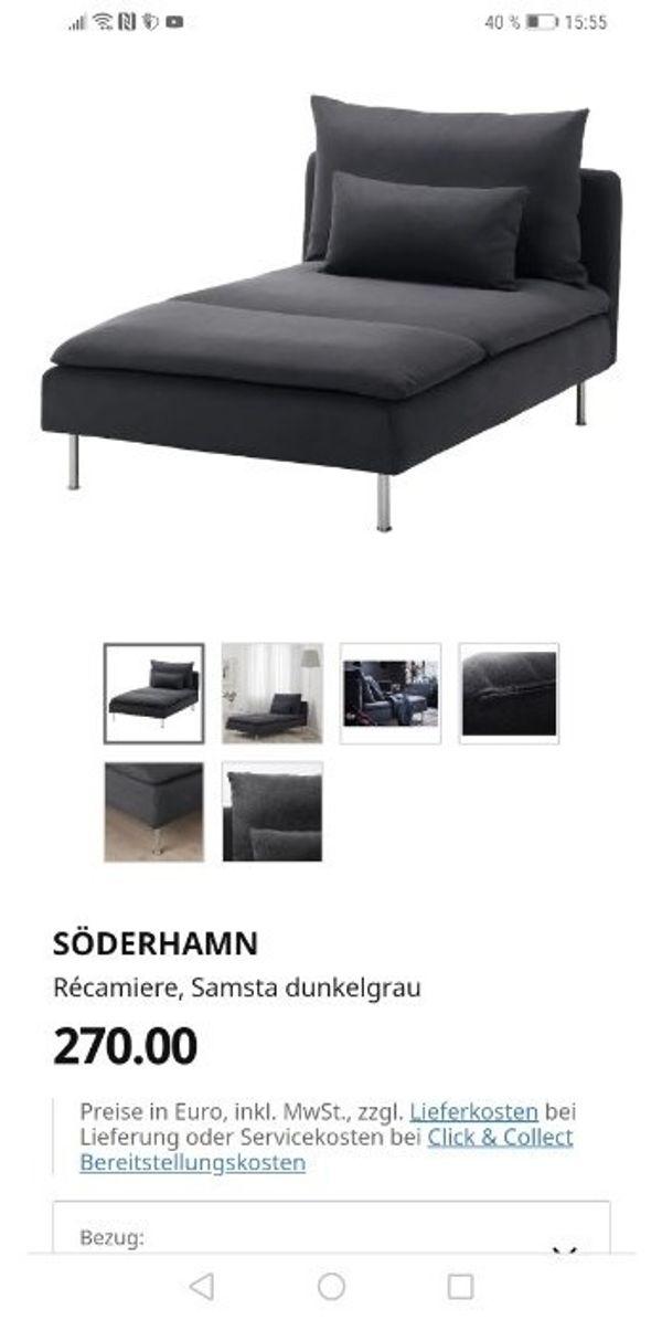 Sofa söderhamn Recamiere