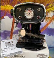 Espressomaschine Retro im original Karton