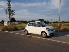 Smart - Elektro-Smart ForFour ed electric drive