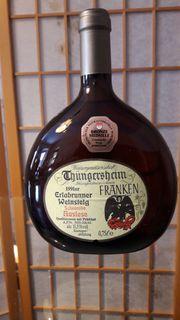Frankenwein Boxbeutel Erlabrunner Weinsteig 1991