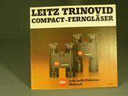 Leica Trinovid Ferngläser Prospekt neuwertig