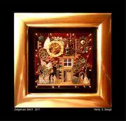 Edelmetall - 3D - Collage im Geschenkkarton