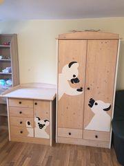 Pinolino Kinderzimmer Kindermöbel Panda Massivholz