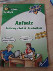 Übungsheft Deutsch 6 Klasse Aufsätze