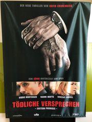 Textil-Poster Tödliche Versprechen zu verkaufen