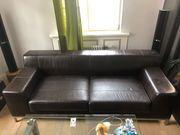 Gebrauchtes IKEA Sofa Kramfors ECHTLEDER