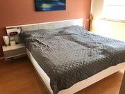 Bett 180x200 LED Schubkästen Matratzen