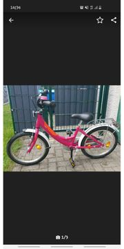 Mädchen Fahrrad 18 Zoll