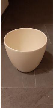 Blumen - Übertopf aus Keramik