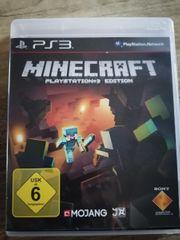 PS3 Minekraft Spiel neuwertig