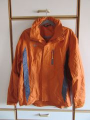 Regenjacke im Beutel orange von