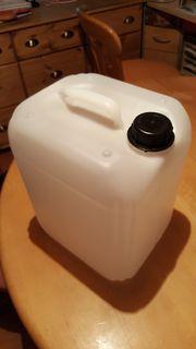 Kanister mit Schraubverschluß - 10 Liter
