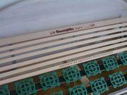 Bett mit Dunopillo