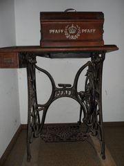 Alte Nähmaschine Marke Pfaff