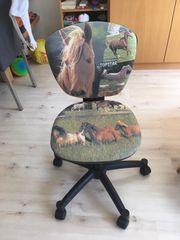 Schreibtischstuhl Pferd