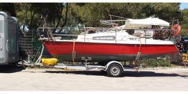 Motorboote - Motorkajütboot mit Trailer Tohatsu 4-Takt