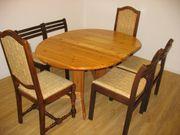 Esszimmergruppe Tisch mit 6 Stühlen