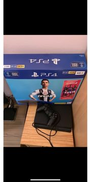 Ps4 konsole mit controller fifa