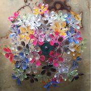Deckenleuchte Lampe Blumen Flowers 70er