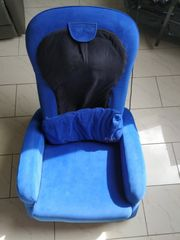 Massagesessel blau