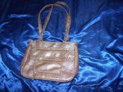 Damen Handtasche Braun 30x22x9