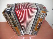 Zupan Harmonika G-C-F- mit Limex