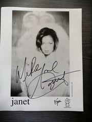 Autogramm von Janet Jackson