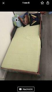 Cars Junior Bett mit Matratze