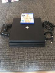 PlayStation 4 Pro mit Spiel