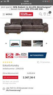 Sofa Wohnlandschaft Schlaffunktion Bettkasten Couch