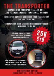 Lastentaxi Umzug Umzugswagen Transporter inkl
