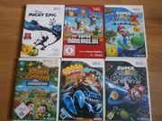 Wii Spiele sehr gut Zustand