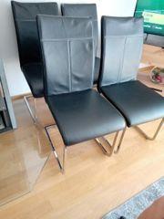 Verkaufe 4 gebrauchte Stühle