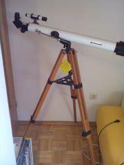 Sternenteleskop Teleskop sehr dekoratives Holzstativ