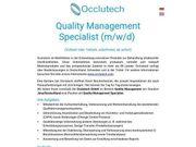 Quality Management Specialist m w
