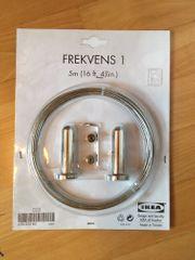 Ikea Gardinenseil aus Stahldraht 5