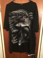 T-Shirt Skull Dragon inkl Versand