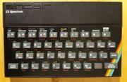 ZX Spectrum mit Zubehör und