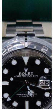 Rolex GMT2 ungetragnen 2019 schwarz