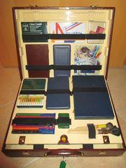 Malkoffer für mit Kreide Farben