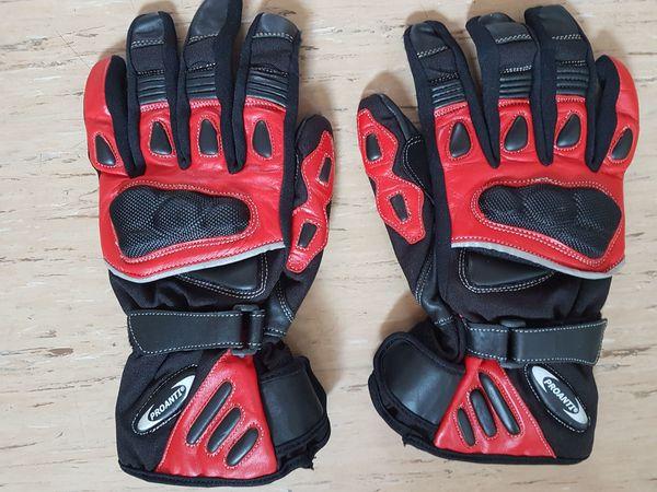Handschuhe Proanti--NP 60EUR--Gr XXL Rot-Schwarz