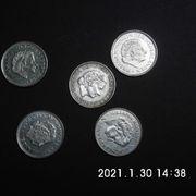 Niederland 5 Stück 1 Gulden