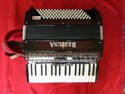 Beltuna Piano-Akkordeon Harmonikordeon 34 Tasten