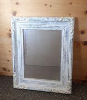 Spiegel in Holzrahmen Gr 56x46