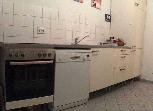 Bosch Kühlschrank In Ikea Küche : Gebrauchte ikea küche weiß mit grauer arbeitsplatte mit beliebten