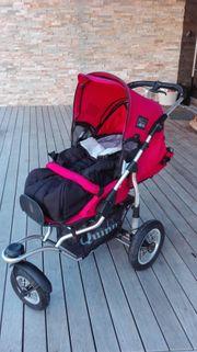 Kinderwagen Quinny Freestyle incl Zubehör