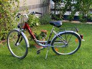 Damen Fahrrad Tief Einstieg der