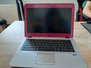 HP Elitebook pink rosa