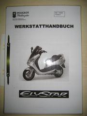 Werkstatthandbuch für Peugeot Elystar 50