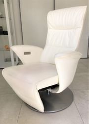 2x Relax Leder Sessel multifunktional